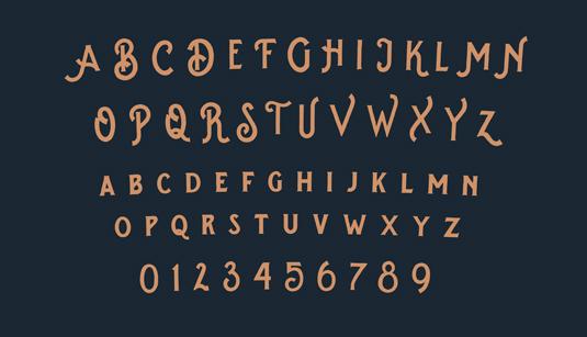 Splandor font