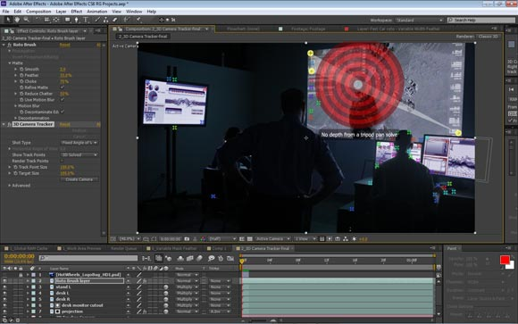 3D Camera TRacker in After Effects CS6