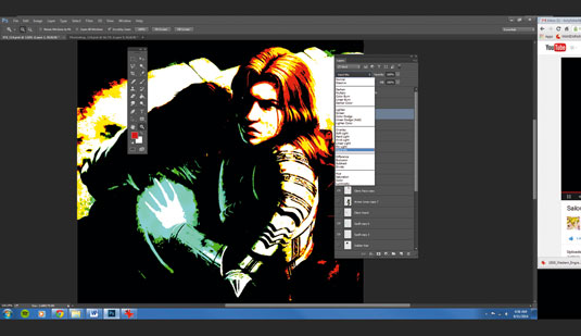 the beginners guide to photoshop - modes