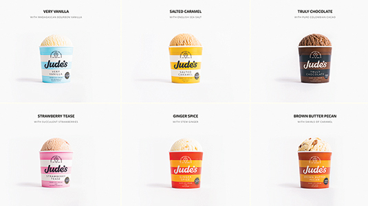 4 great examples of food websites
