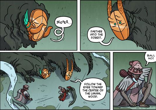 imaginative web comics: bird boy