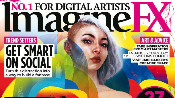 Learn surreal painting secrets with ImagineFX