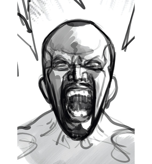 scream sketch