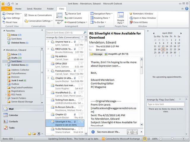 Microsoft Outlook 2010 | U-Mail