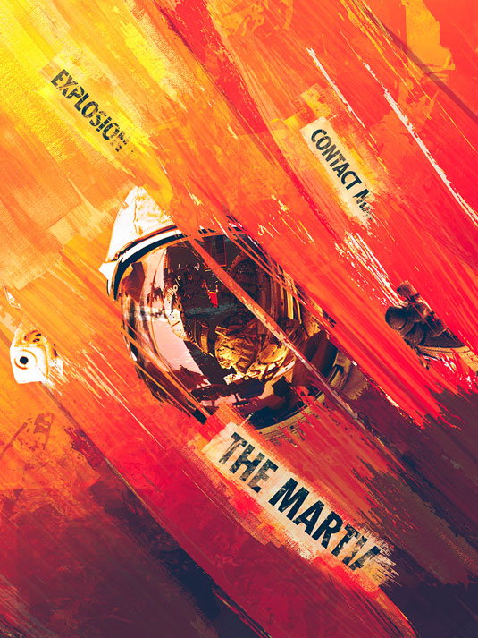 Oscars posters - The Martian