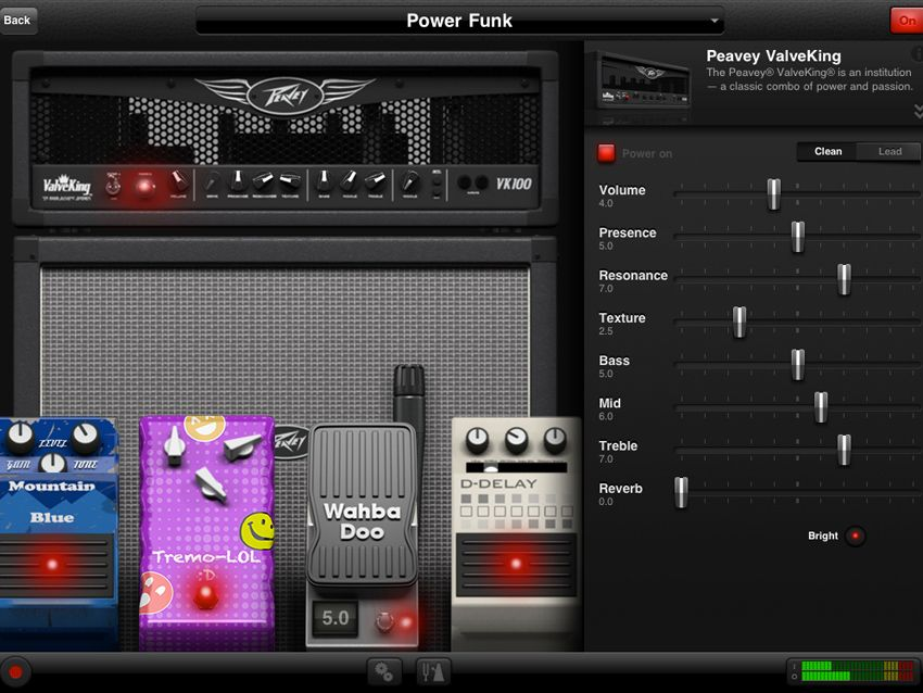 ampkit amps and effects app updated musicradar. Black Bedroom Furniture Sets. Home Design Ideas