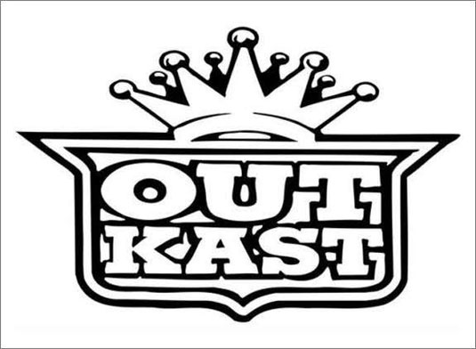 35 beautiful band logo designs - Outkast