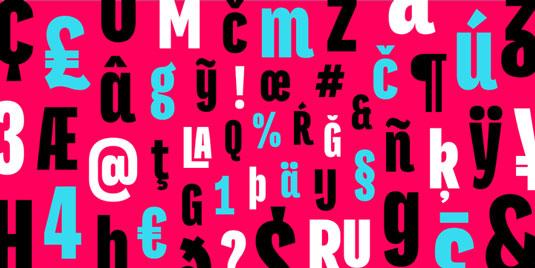 Titular font