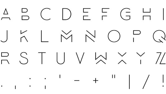 Free font: Lombok