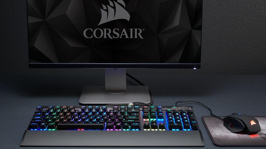 Corsair S Latest Mechanical Keyboards Are Basically Light