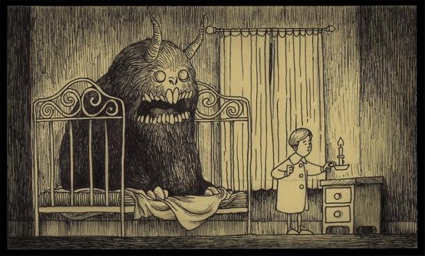 John Kenn - Monsters on Post-It Notes