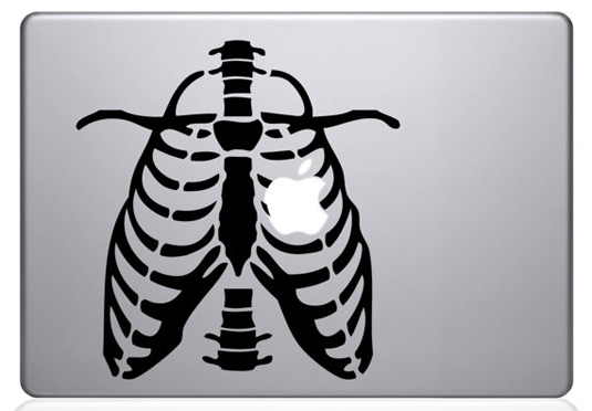 Mac decals - Ribbed