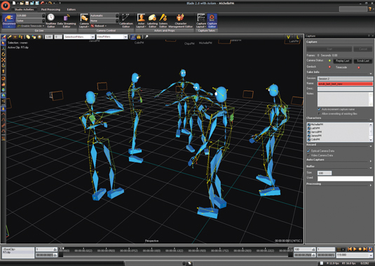 The changing face of motion capture