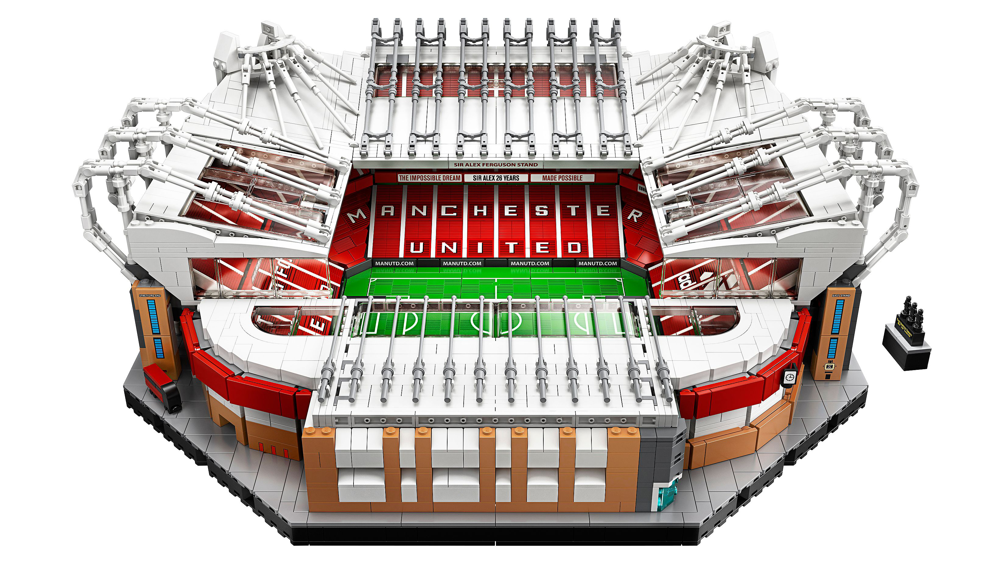 Best Lego Architecture: Old trafford