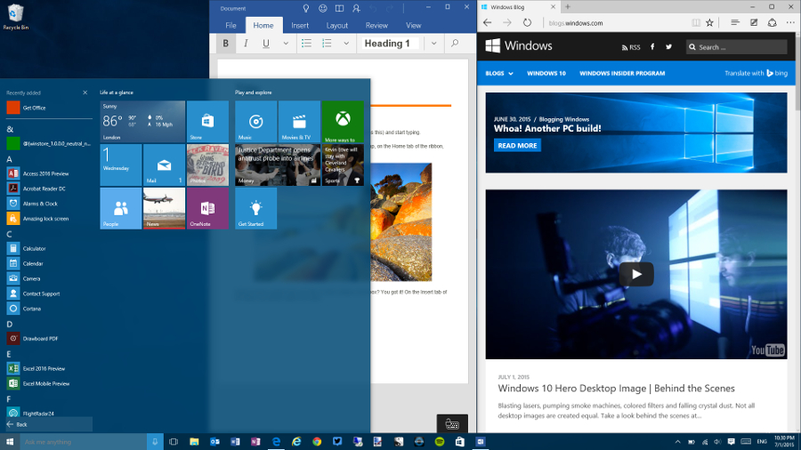 20 smart new and improved features in Windows 10 | TechRadar