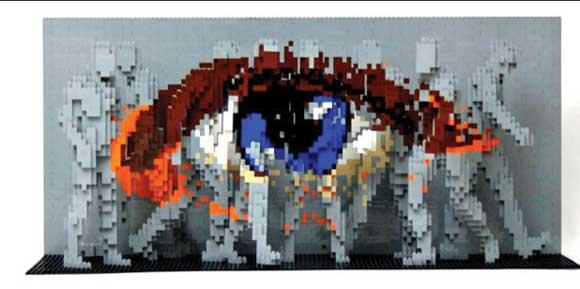 Lego Art: Nathan Sawaya