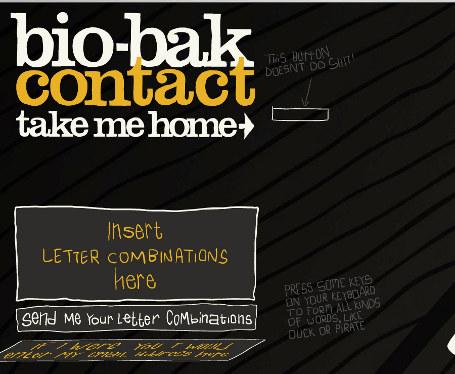 Flash Animations: Bio Bak