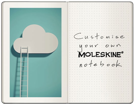customise your moleskin