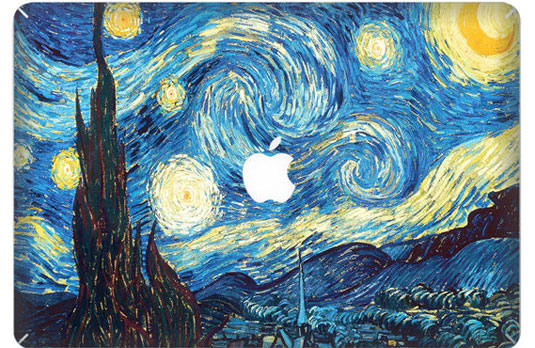 Mac decals - Van Gogh