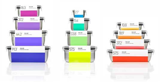 minimal packaging design: Toscatti