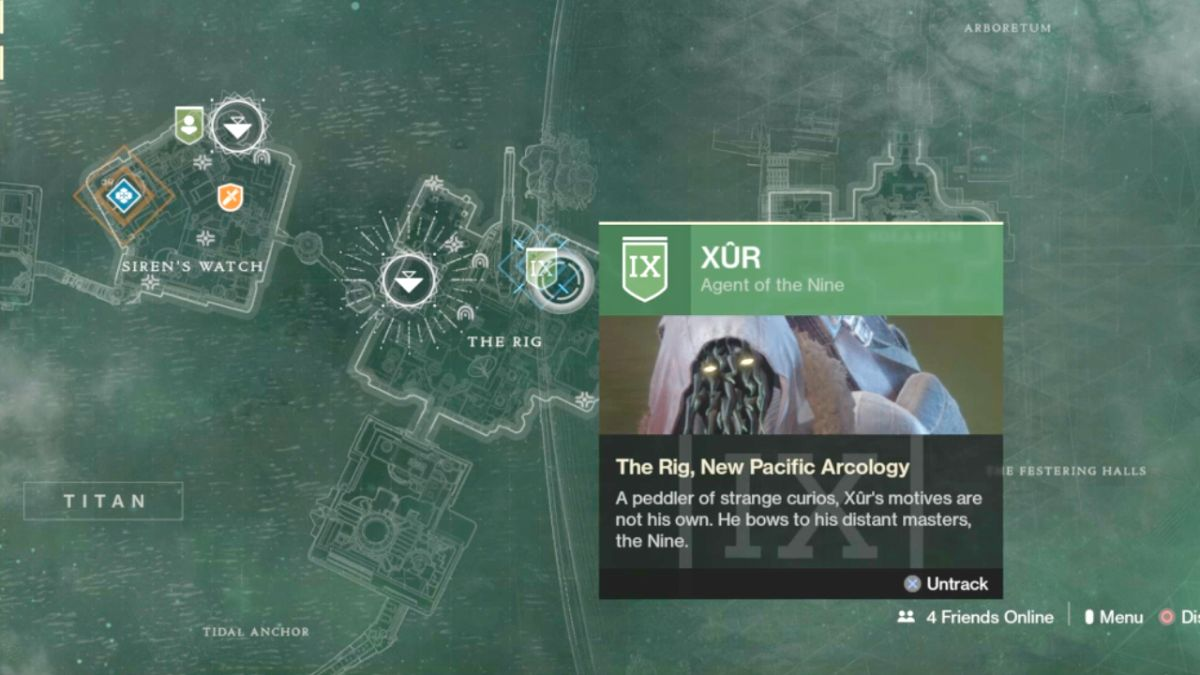 Destiny 2: Xur location, weapons and armour Sept 22-26, Should you buy The Wardcliff Coil?