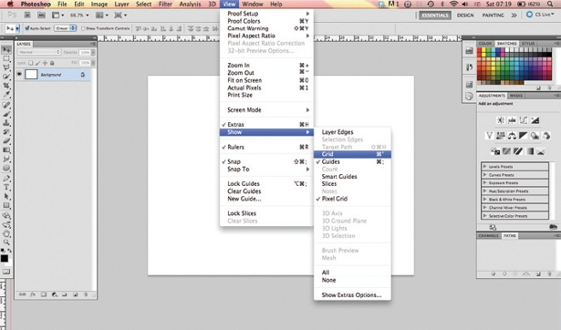 Design an iPad app UI in Photoshop: step 3