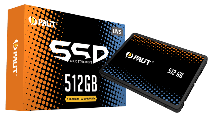 Palit enters the SSD business with 7 new SATA drives
