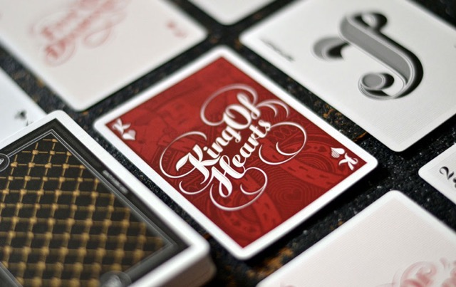 custom playing cards: The Type Deck