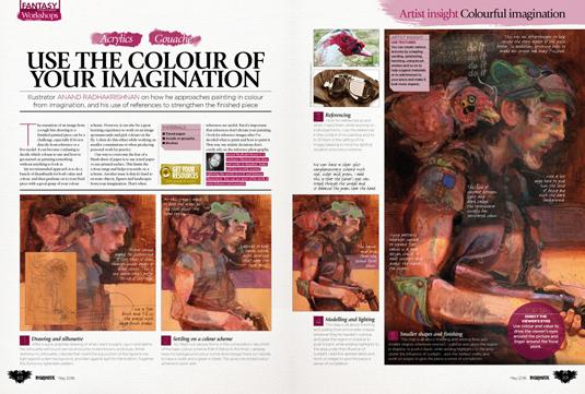Imagine FX issue 134 - Anand Radhakrishnan