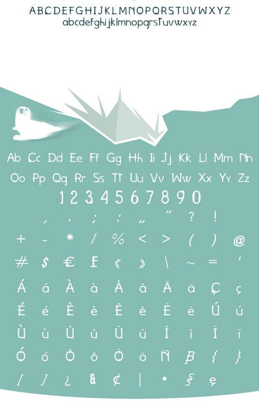 Uncut font