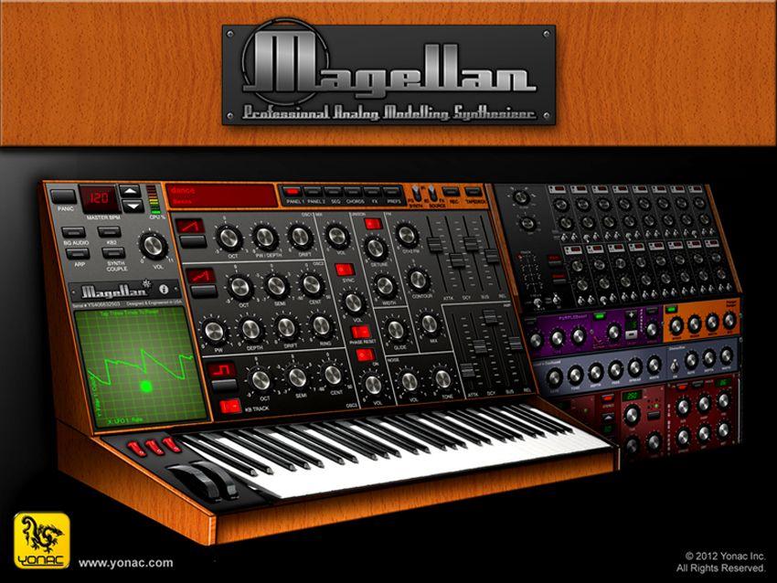 magellan ipad synth from yonac software musicradar. Black Bedroom Furniture Sets. Home Design Ideas