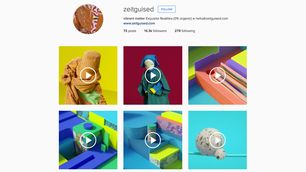 graphic designers to follow on Instagram: Zeitguised