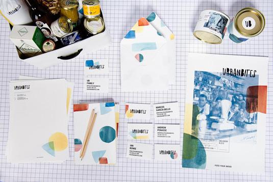 Urbanbites branding