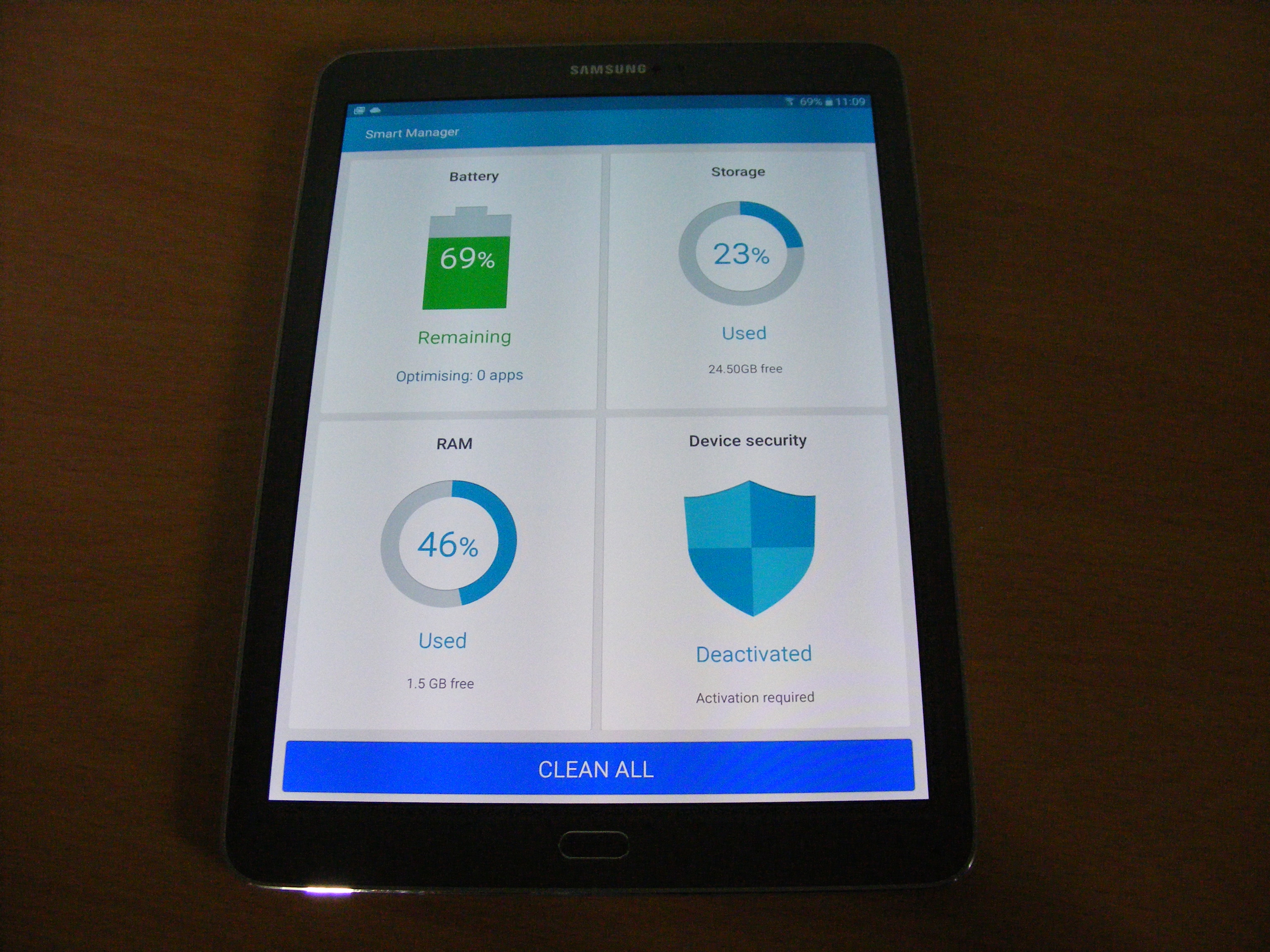 Galaxy tab smart manager