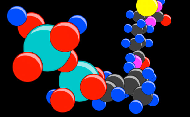 CSS 3D transforms: 3D Rotating Molecules on the iPhone/iPad