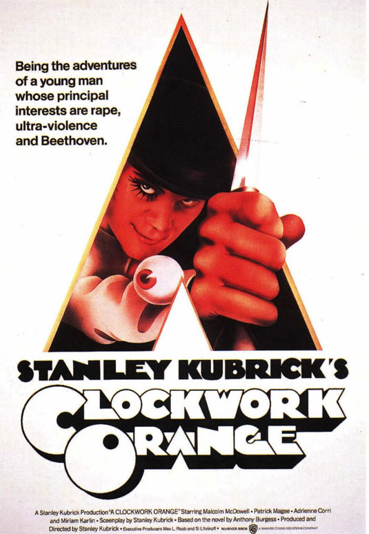 Movie posters: Clockwork Orange