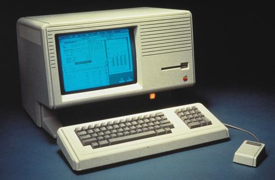 The Lisa apple computer