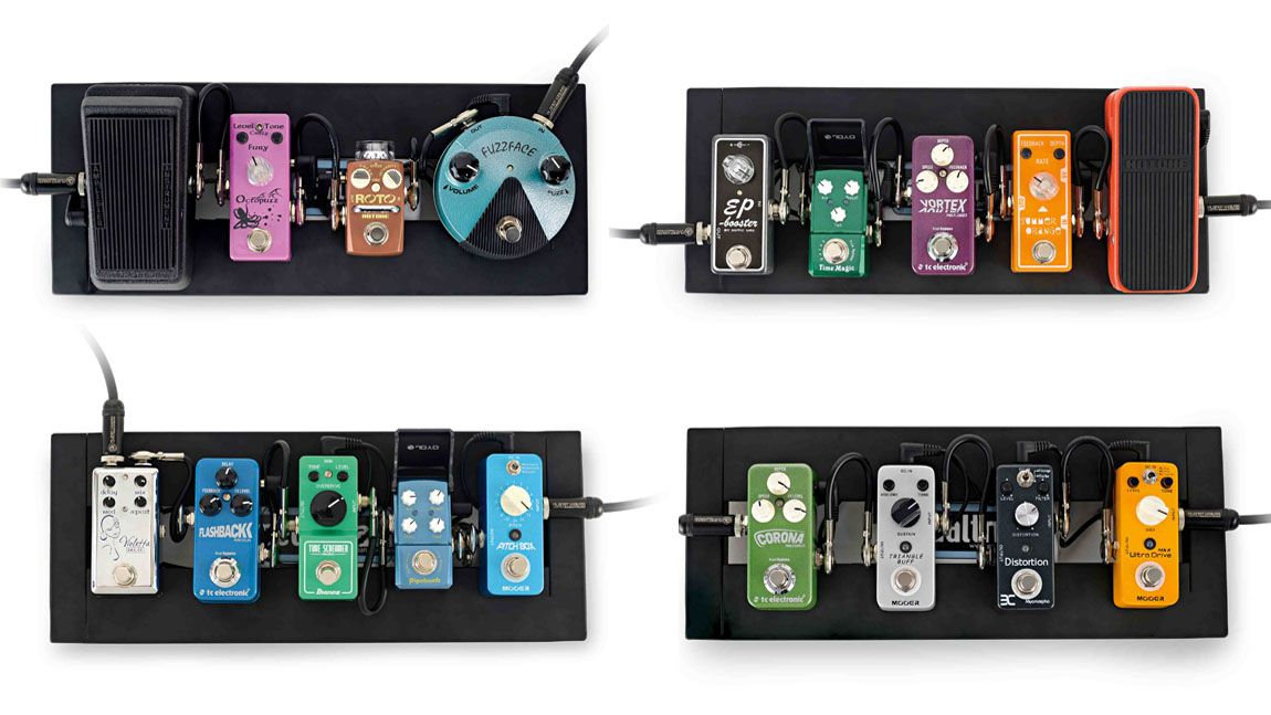 pro pedalboards recreated in miniature musicradar. Black Bedroom Furniture Sets. Home Design Ideas