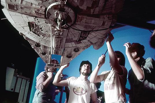 Star Wars crew shot