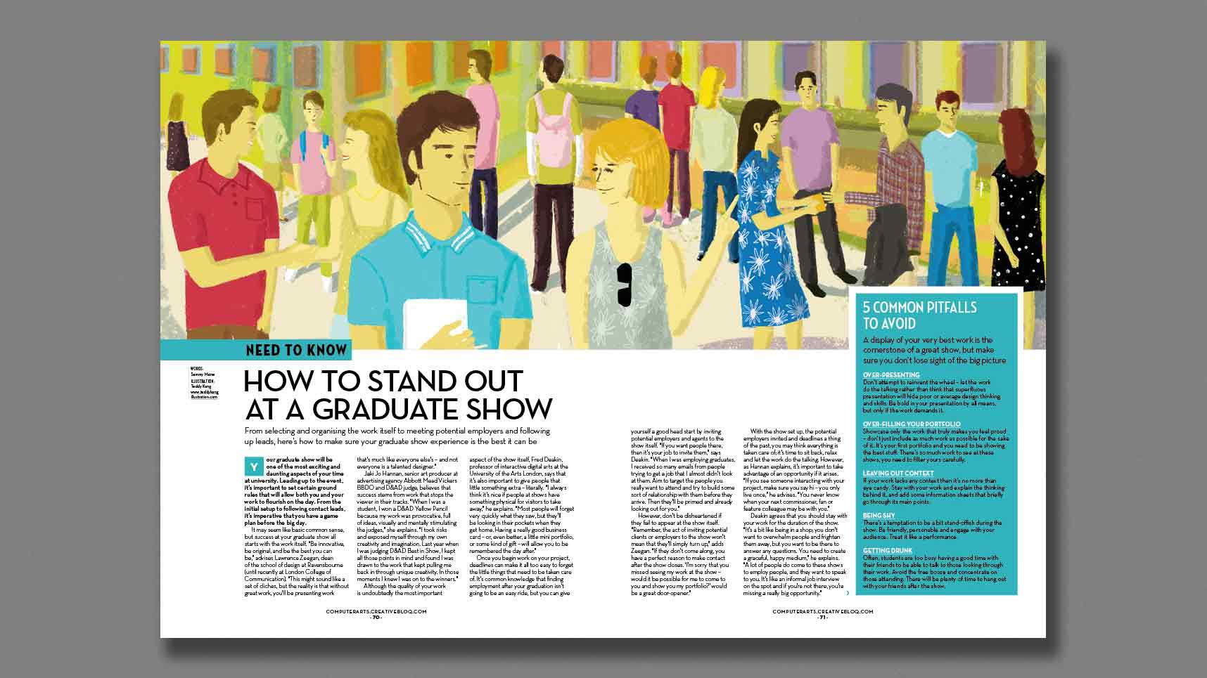 Computer Arts issue 253: graduate show