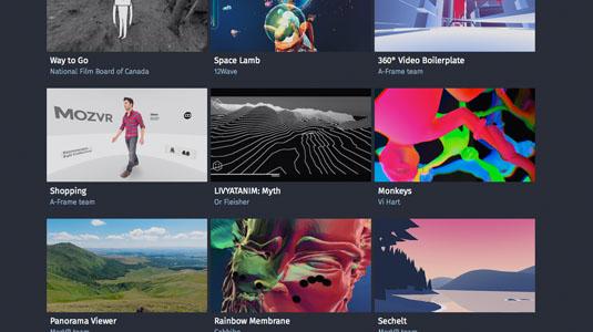 web design tools: mozvr