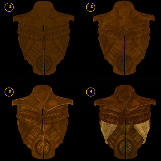 Creating a leather texture