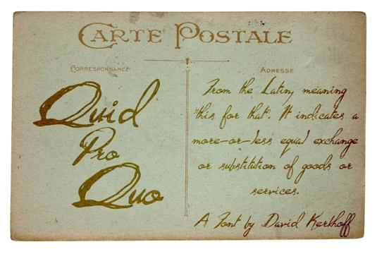 Retro fonts: Quid Pro Quo