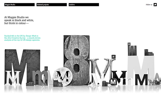 Win a design award: Magpie Studio's accolades