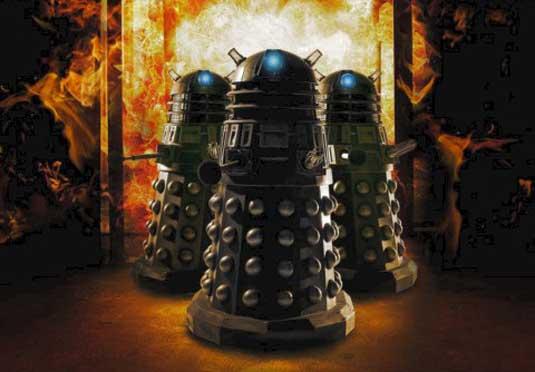Dalek designs: New series poster