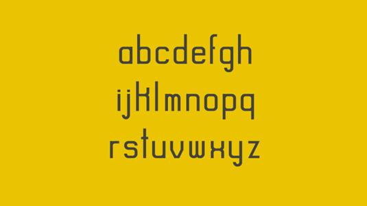 Free font: Rise