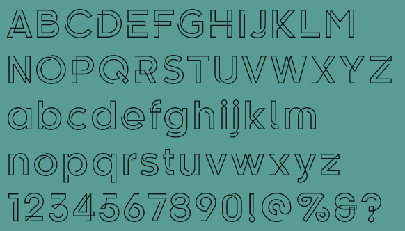 Font of the day: Kelso