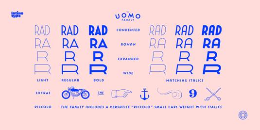 Uomo font