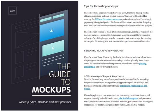 Mockups book cover