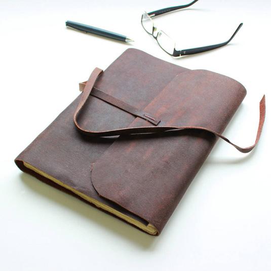 Sketchbooks for designers: Soft leather
